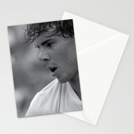 """Rafael """"Rafa"""" Nadal """" King of Clay"""" court playing tennis at the Miami Open Stationery Cards"""