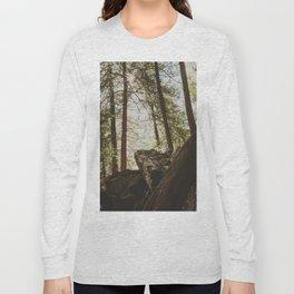 Fall Creek Falls Gorge Overlook Long Sleeve T-shirt