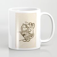 fullmetal alchemist Mugs featuring Blop -the Alchemist drawings 01 by Blop Shop (Alex Hahn)