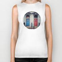doors Biker Tanks featuring The Doors by unaciertamirada