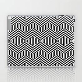 Op art hexagon Laptop & iPad Skin