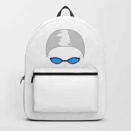 Swim Cap and Goggles Backpack