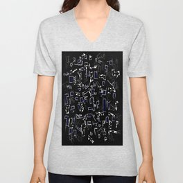 Perfect abstraction Unisex V-Neck