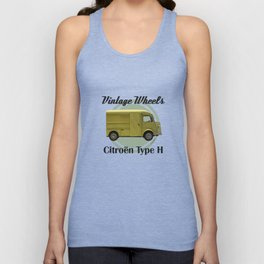 Vintage Wheels - Citroen Type H Unisex Tank Top