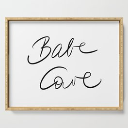 Babe Cave Serving Tray