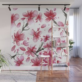 Cherry Blossoms #society6 #buyart Wall Mural