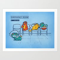 Emergency Room Art Print