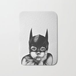 Waiting For a Hero Bath Mat