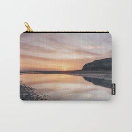 Sunrise on Old Hunstanton beach. Norfolk, UK. Carry-All Pouch