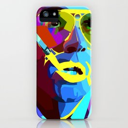 Fear And Loathing In Las Vegas Painting | Johnny Depp iPhone Case