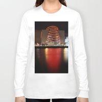 dublin Long Sleeve T-shirts featuring Dublin Convention Centre by Ciaran Mcg