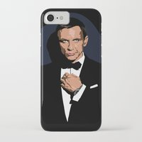 james bond iPhone & iPod Cases featuring 007 JAMES BOND by MATT WARING