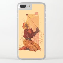 feign optimism Clear iPhone Case