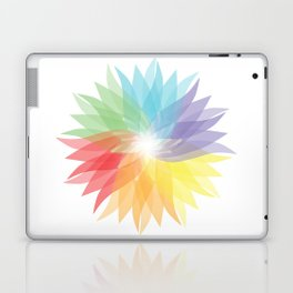colorful lady Laptop & iPad Skin