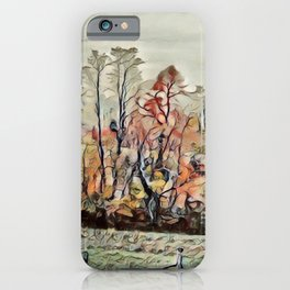 Autumn Field - SW Virginia  iPhone Case