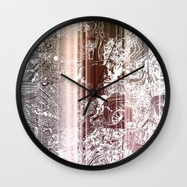 THE A LIST Wall Clock
