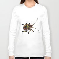 bug Long Sleeve T-shirts featuring Bug by MSRomeiro