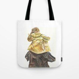 Part of the crowd. Tote Bag
