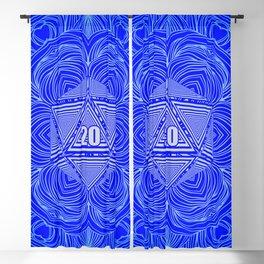 Natural 20 Mandala Purity of the Paladin Blackout Curtain