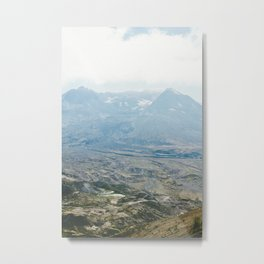crater. Metal Print
