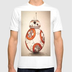 BB-8 White MEDIUM Mens Fitted Tee