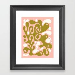 flow 001 Framed Art Print