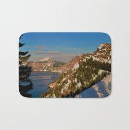 Crater Lake - Spring II Bath Mat