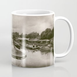 Boat Dock Black Country Living Museum Coffee Mug