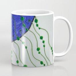 Purple Jellyfish Girly Coffee Mug