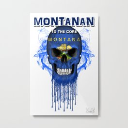 To The Core Collection: Montana Metal Print