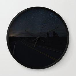 Geminid Road Wall Clock