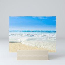 Beach Love Summer Sanctuary Mini Art Print