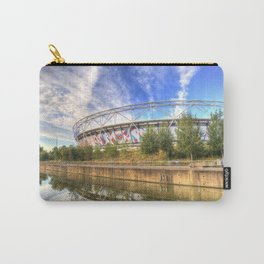 West Ham Olympic Stadium And The Arcelormittal Orbit  Carry-All Pouch