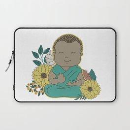 Baby Buddha and Sunflower Laptop Sleeve