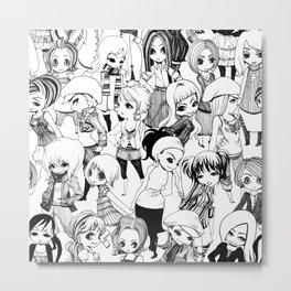 Ladies Metal Print