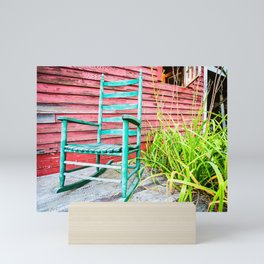 Have a Seat Mini Art Print