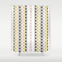 kilim Shower Curtains featuring Kilim 2 by 603 Creative Studio
