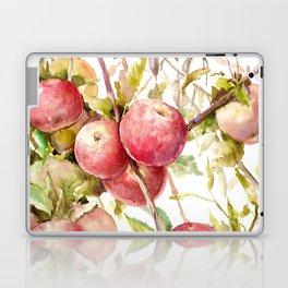Apple Tree, kitchen design red olive green kitchen fruits Laptop & iPad Skin