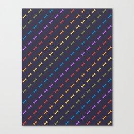 Rainbones Canvas Print