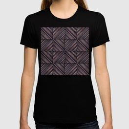 Herringbone Diamonds - Mauve T-shirt