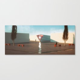 Hexa Plaza Canvas Print