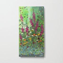 Fireweed Metal Print