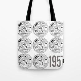 Homemaker Graphic Artwork 1957 Design Classic Poster Print Tote Bag