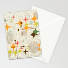 Starbursts and Globes 3 Stationery Cards