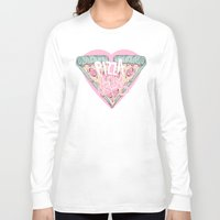 pizza Long Sleeve T-shirts featuring Pizza Lover by lOll3