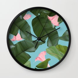 Wild Flower #society6 #decor #buyart Wall Clock