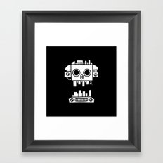 Mechanical Jolly Roger - PM Framed Art Print