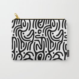 Identity Pattern Carry-All Pouch