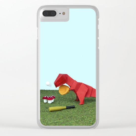 Yes T-Rex can! Clear iPhone Case