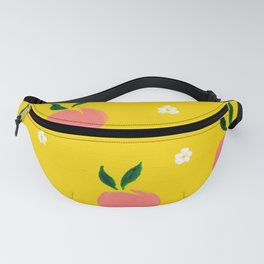 Peaches pattern Fanny Pack